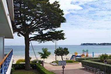Appartement 4 pièces vue mer à La Baule, quartier Benoît, accès direct plage