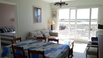 Appartement avec vue sur la lagune résidence La Chenolette La Faute Sur Mer