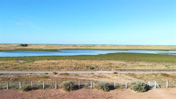 Appartement avec vue sur la lagune et l'Océan
