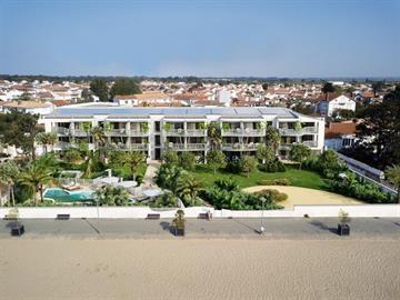 En Front de mer, neuf et tout confort dans résidence 3* avec piscine, spa et accès direct plage