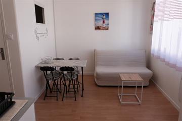 Charmant appartement d'environ 25m² proche du centre ville de La Tranche Sur Mer, à 700m de la plage centrale.