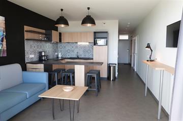 Appartement 4/6 pers, vue mer, en rez-de-jardin - Résidence le Rêve*** avec accès direct à la plage