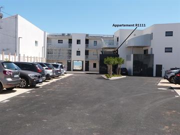 Accès direct plage centrale pour cet appartement 2/4 pers situé cour intérieure de la résidence
